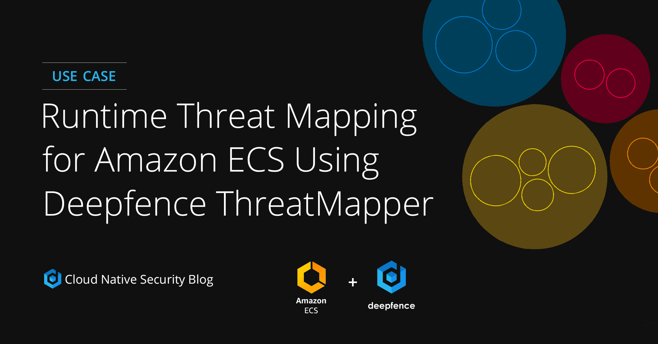 Blog post - Use Case Runtime Threat Mapping for Amazon ECS Using Deepfence ThreatMapper
