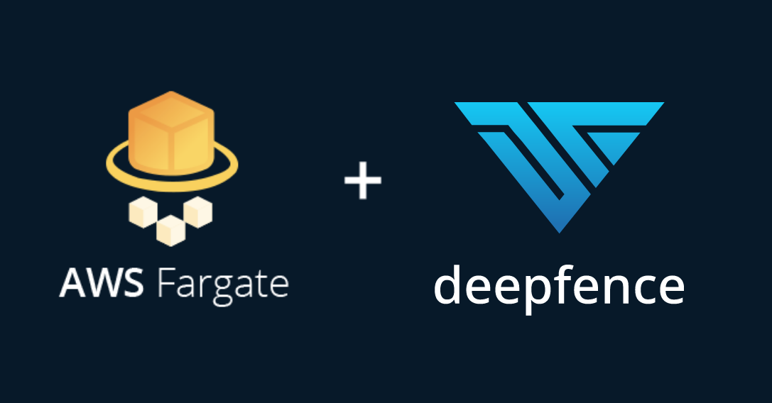 Runtime serverless security with AWS Fargate and Deepfence graphic